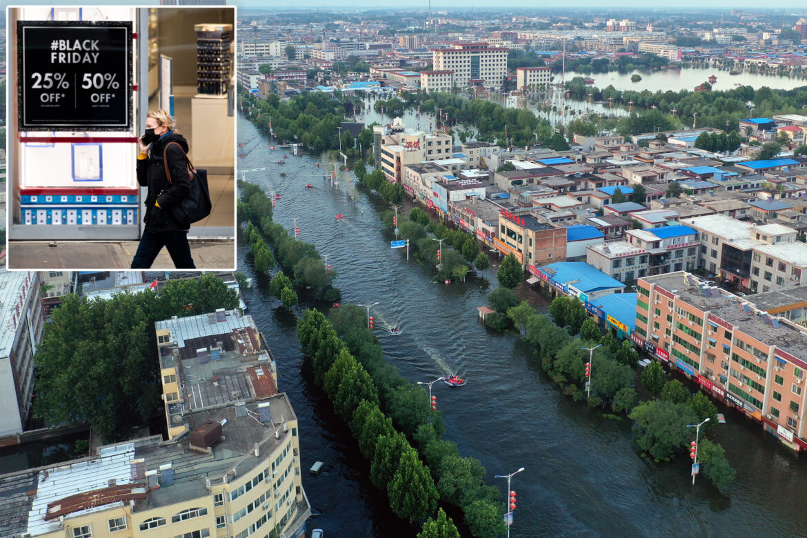 Shipping crisis from floods in Europe, China threatens holiday shopping