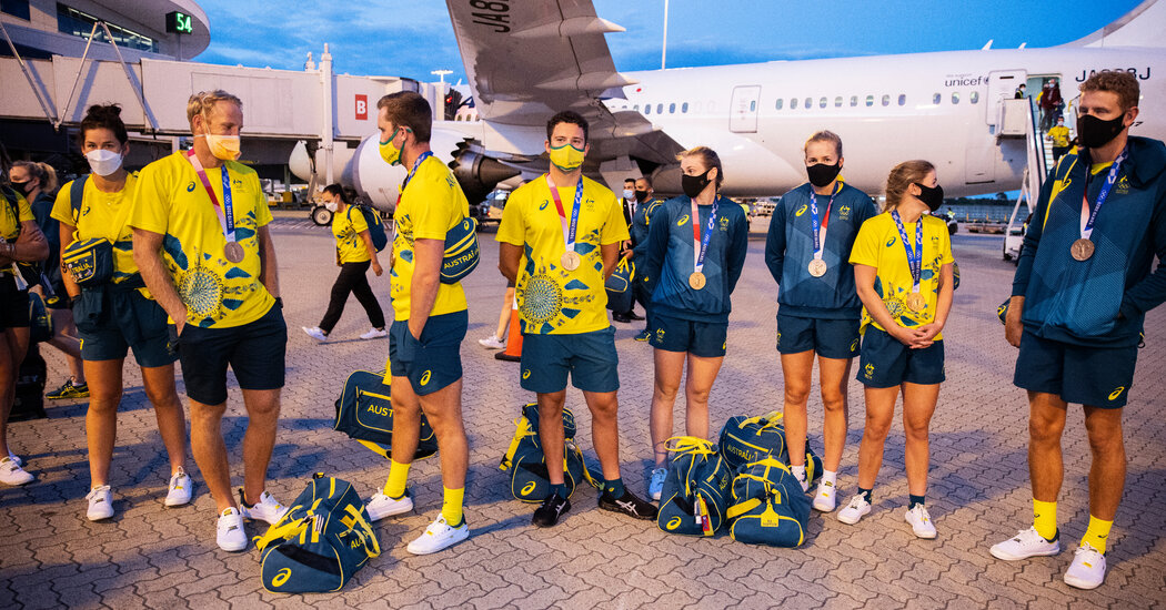Some Olympians Returning to Australia Have to Double Quarantine
