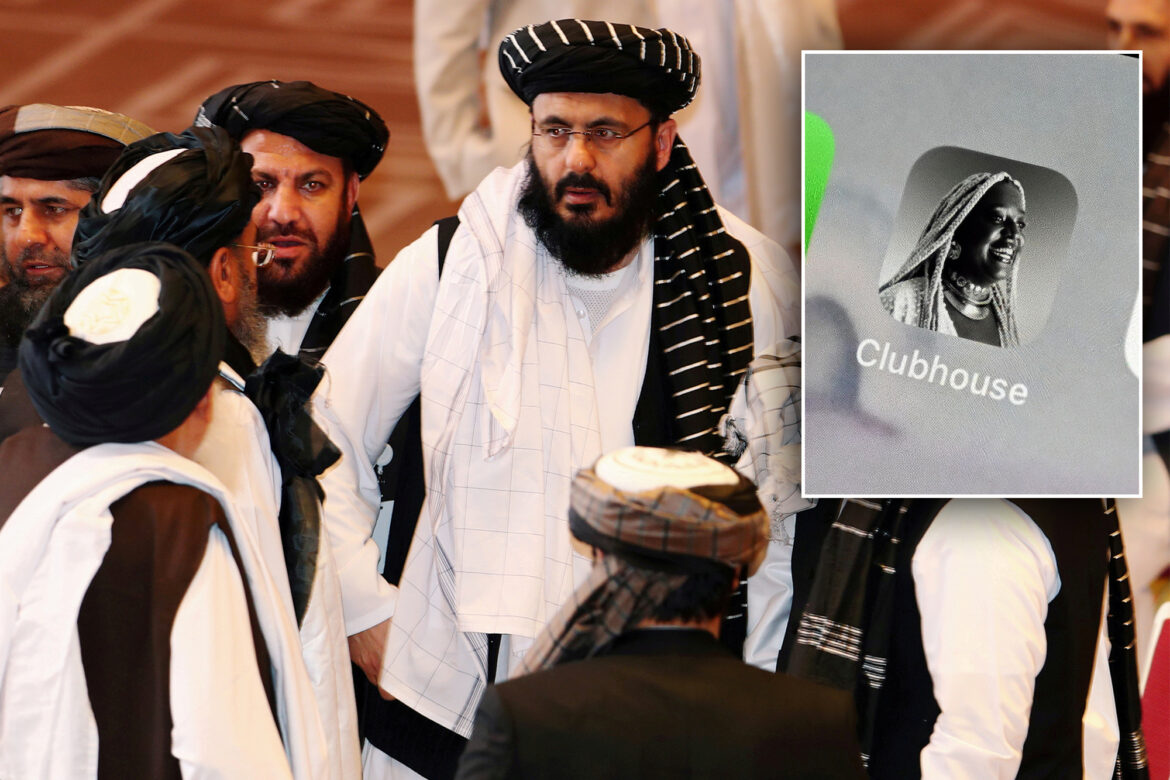 Taliban members are reportedly running chatrooms on Clubhouse