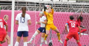 Alyssa Naeher Has Left the U.S.- Canada Match With a Knee Injury, Adrianna Franch Takes Her Place