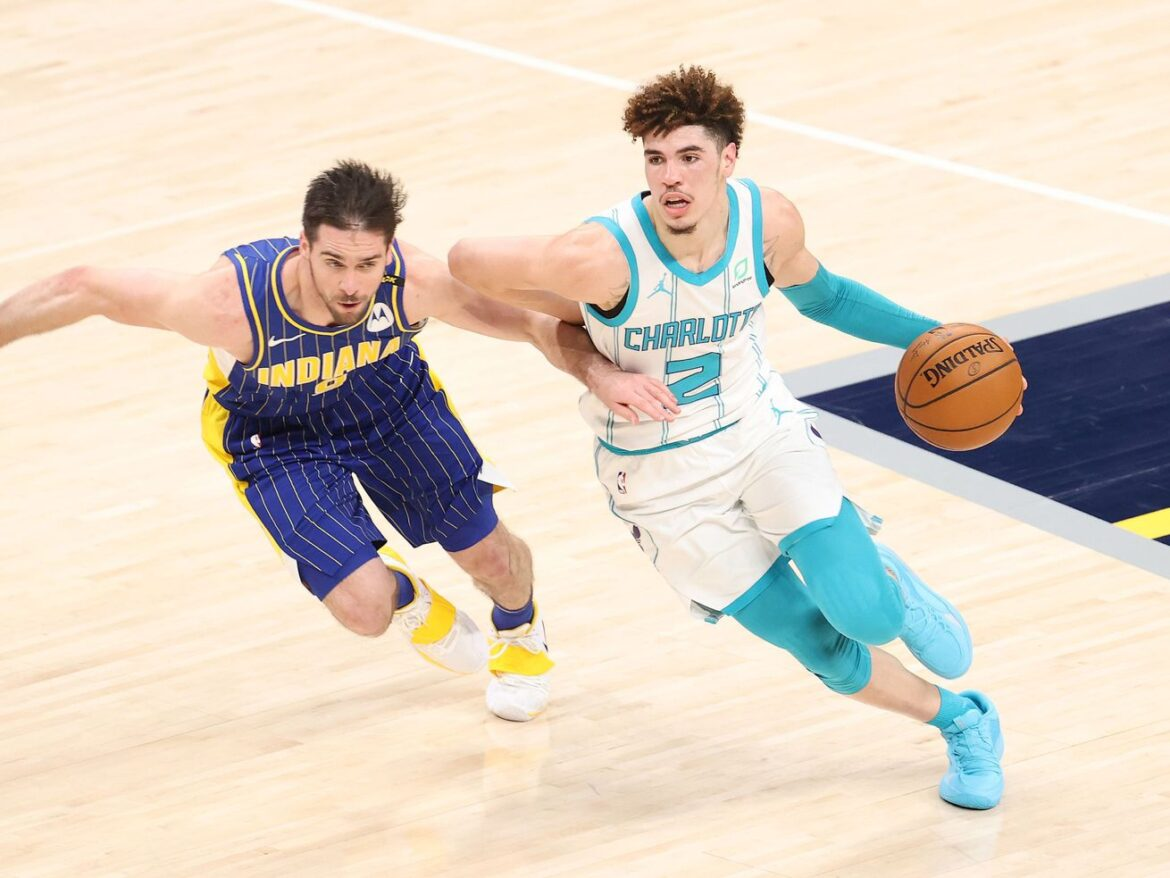 Apparently, playing basketball is all LaMelo Ball needs