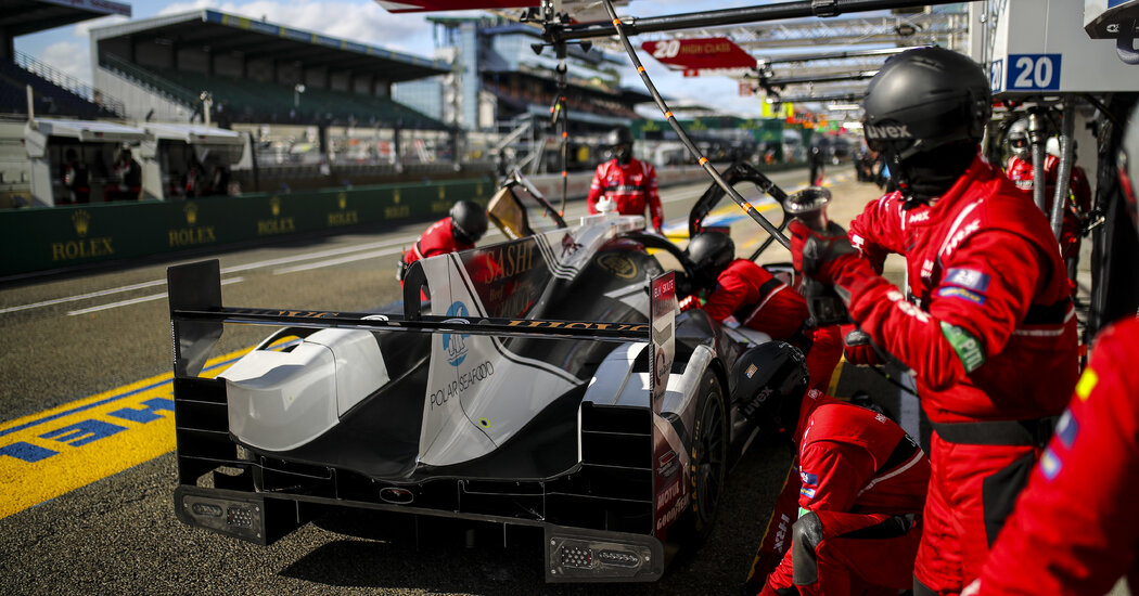 At Le Mans, the Magnussens (Father and Son) Team Up