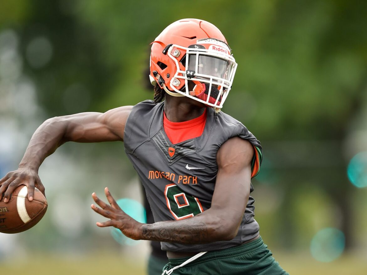 Back on schedule: Morgan Park has high expectations on the first day of practice