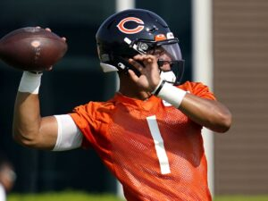 Bears QB Justin Fields eager, but knows 'greatness doesn't happen overnight'