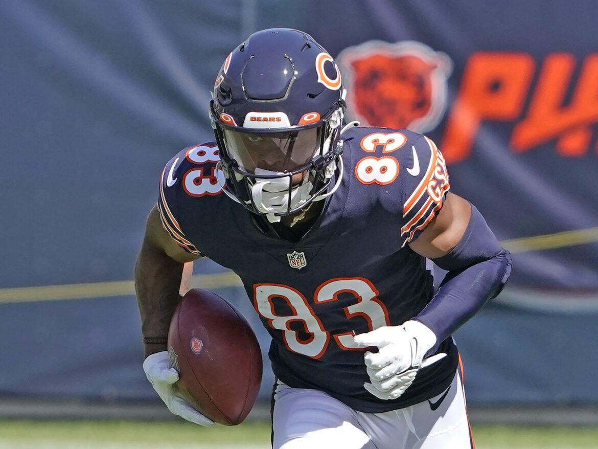 Bears rookie Dazz Newsome still searching for 'home run'
