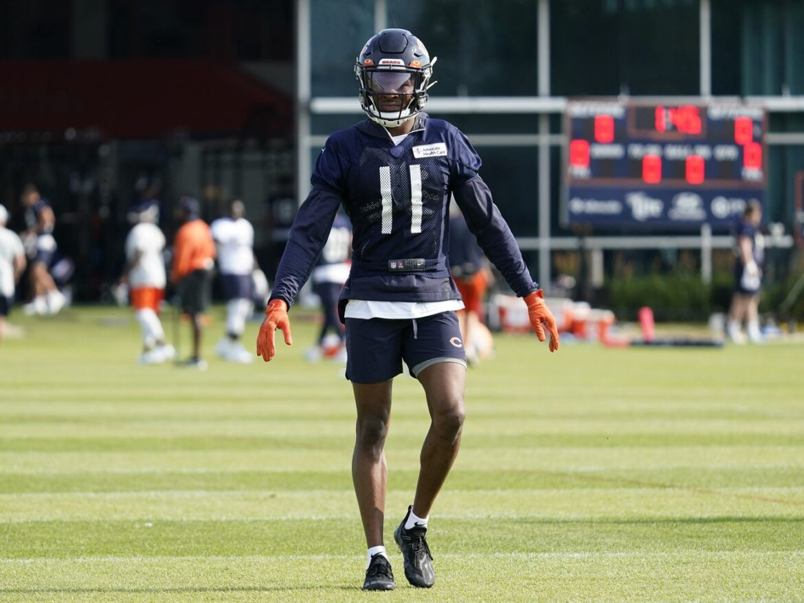 Bears WR Darnell Mooney 'on fire' as he looks to leap in Year 2