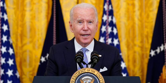 Biden says voting system 'under assault, protecting it is 'single most important thing'