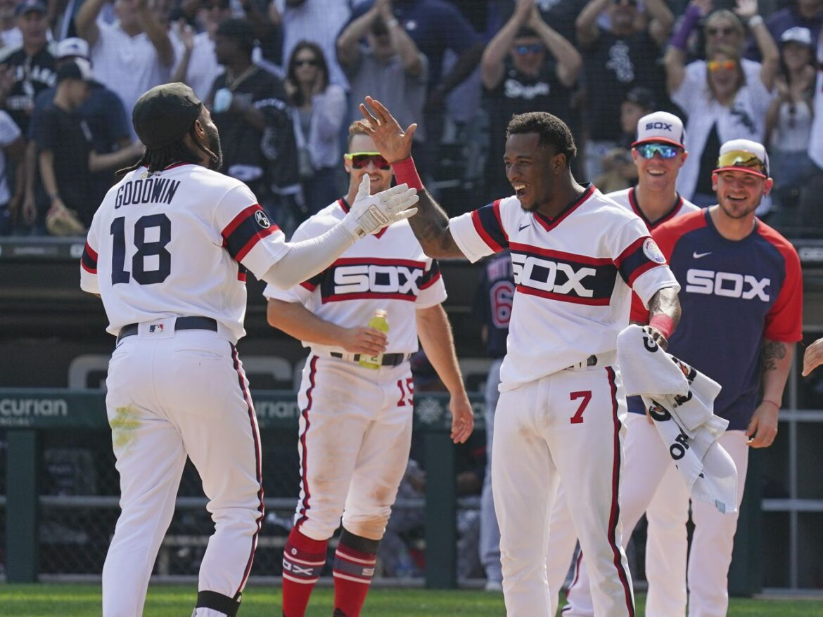 Brian Goodwin lifts White Sox over Indians with first career walk-off homer