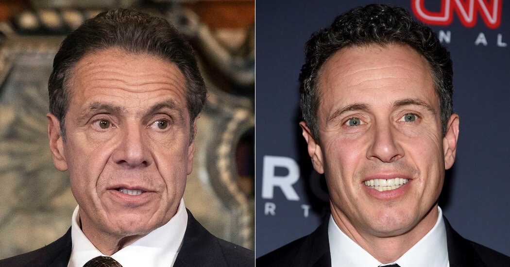 Chris Cuomo of CNN breaks silence on his brother's scandal.