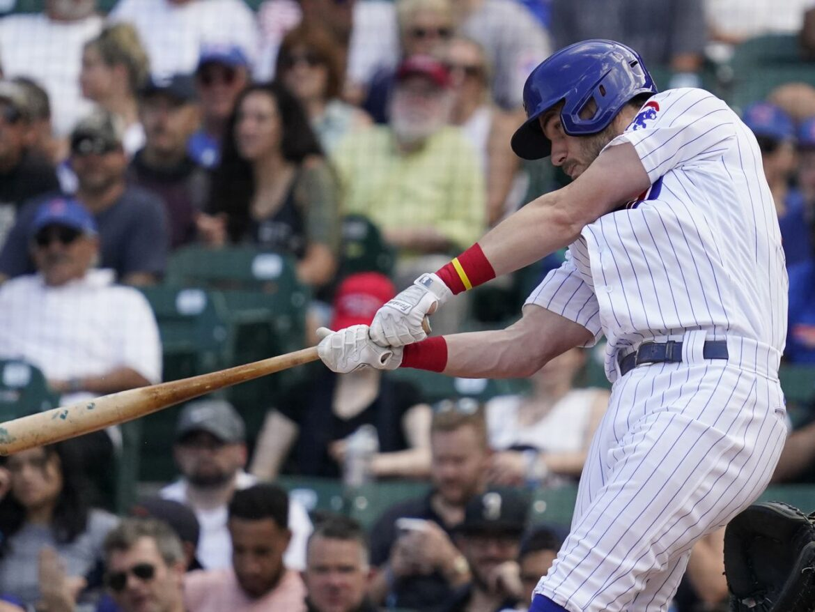 Cubs take first game of doubleheader vs. Rockies