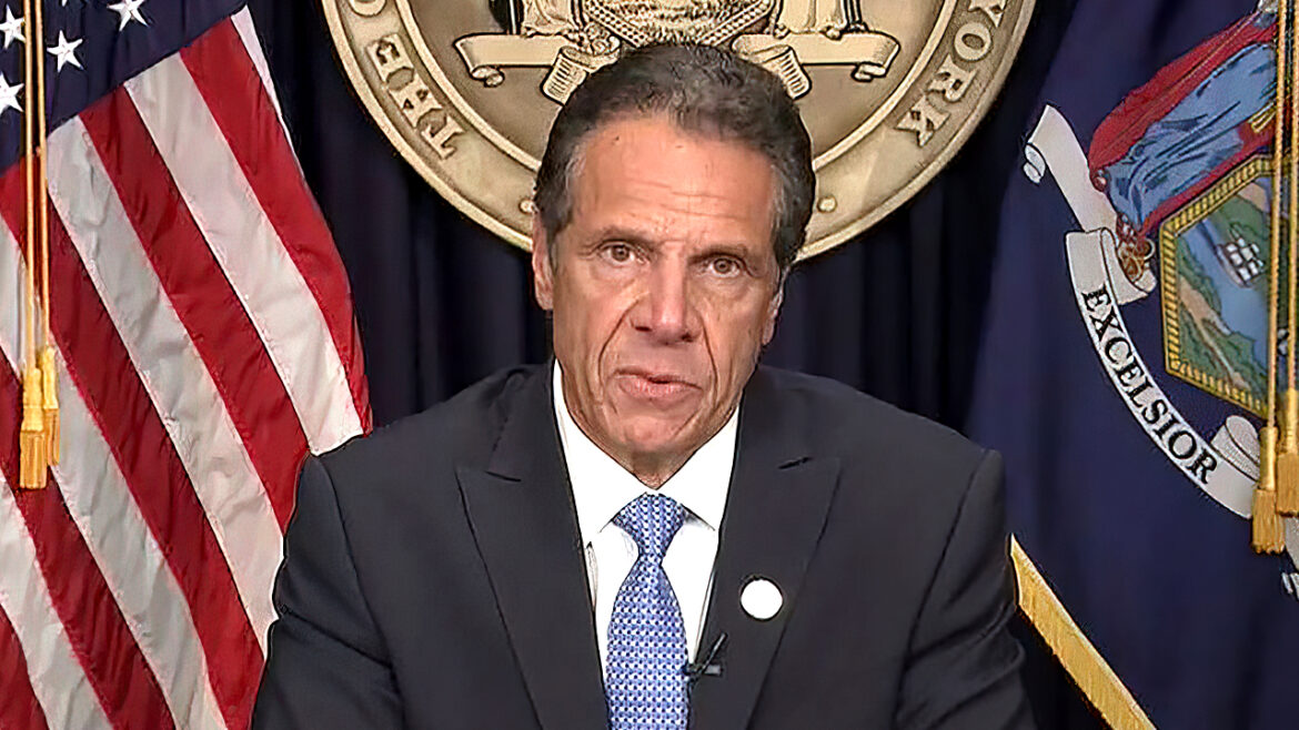 Cuomo files for retirement to receive state's lifetime pension, report says