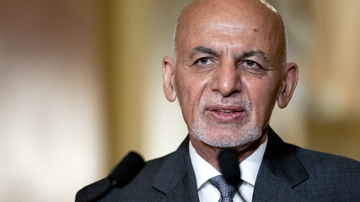 Daughter of exiled Afghan President Ghani strolls in NYC amid chaos