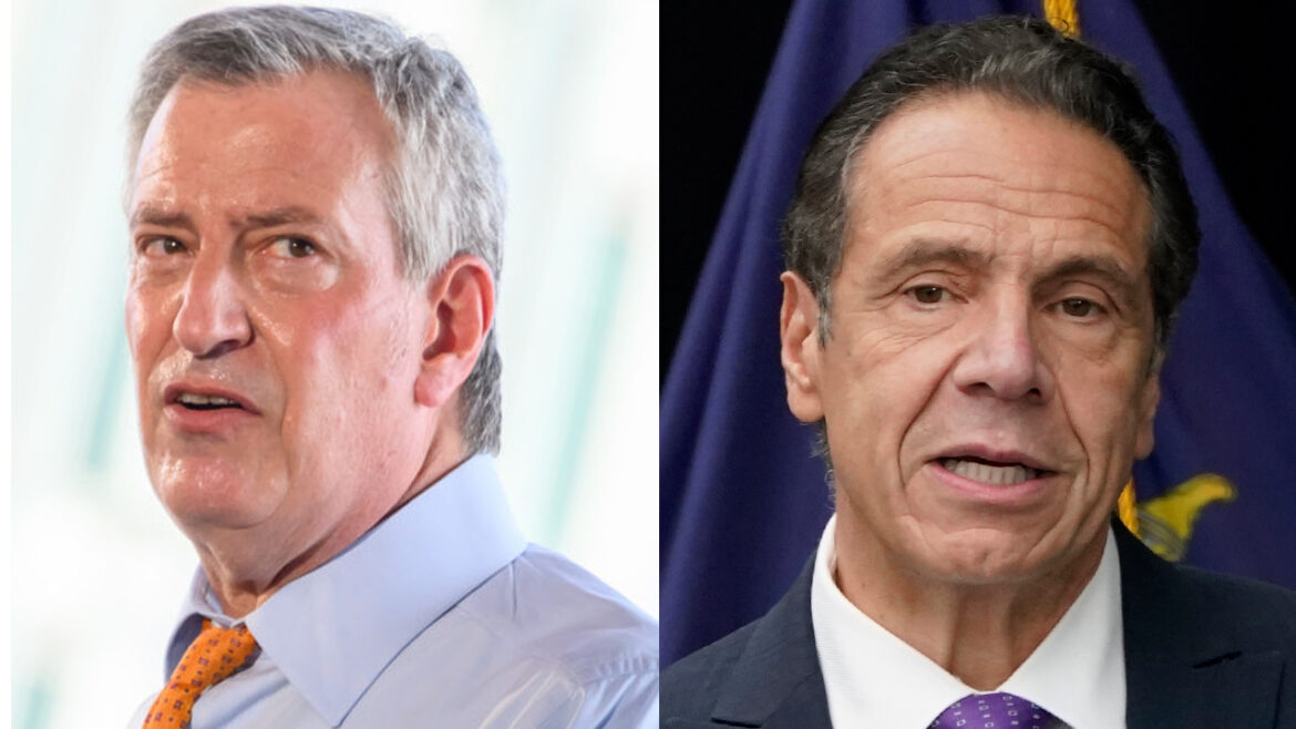 DeBlasio calls on 'narcissist' Cuomo to 'get the hell out of the way' and resign