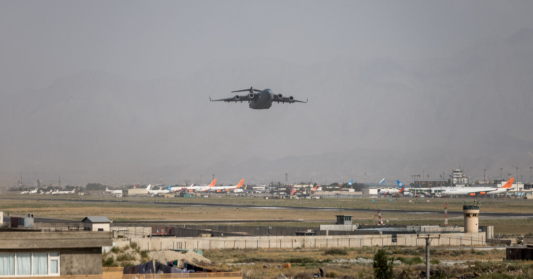 Baby Born on Afghan Flight Is Named Reach, After Jet's Call Sign