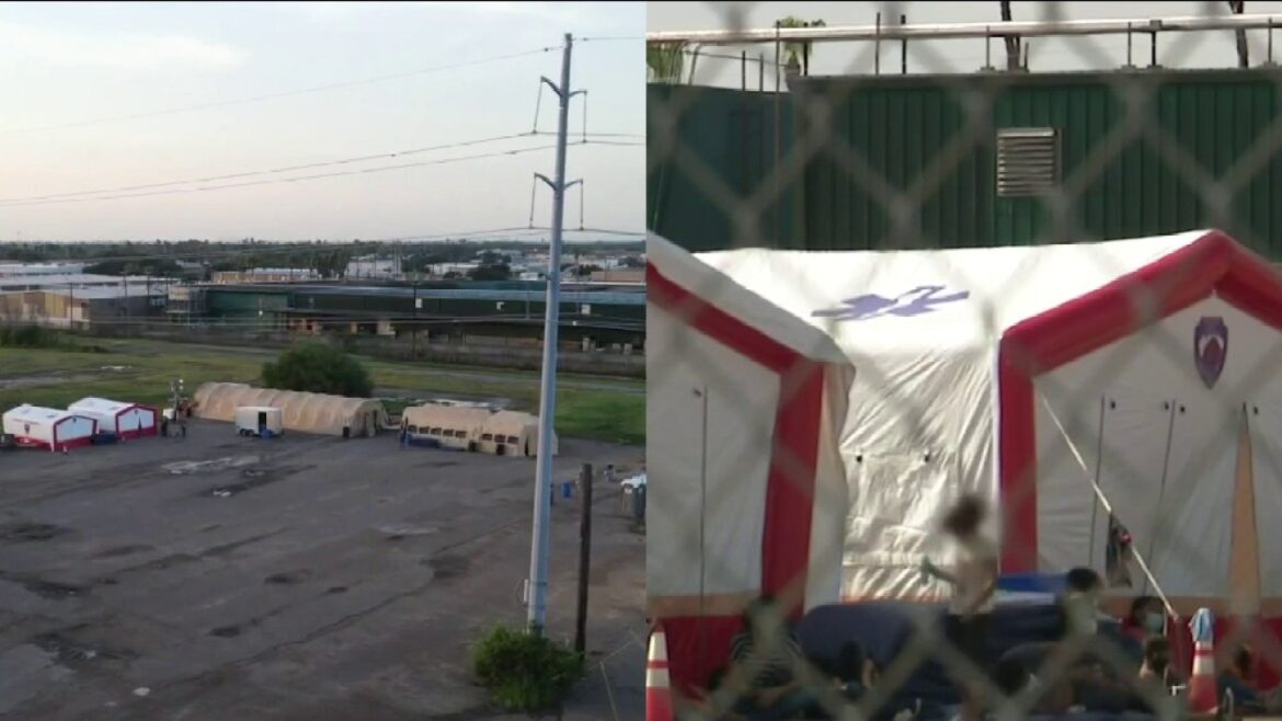 Emergency shelter in Texas border city expands capacity as more COVID-positive migrants released