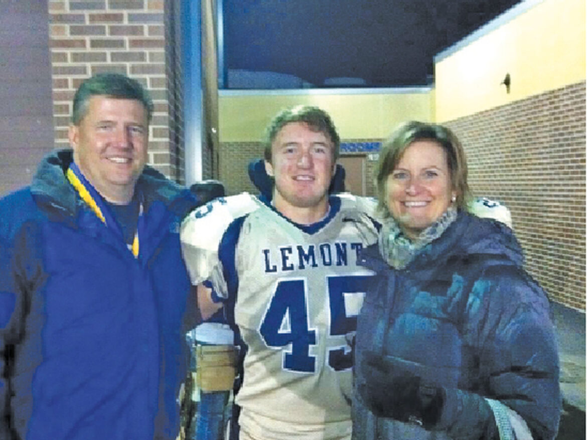 Former Lemont football player Kyle Krull's fight with CTE at young age is proof of a grim problem