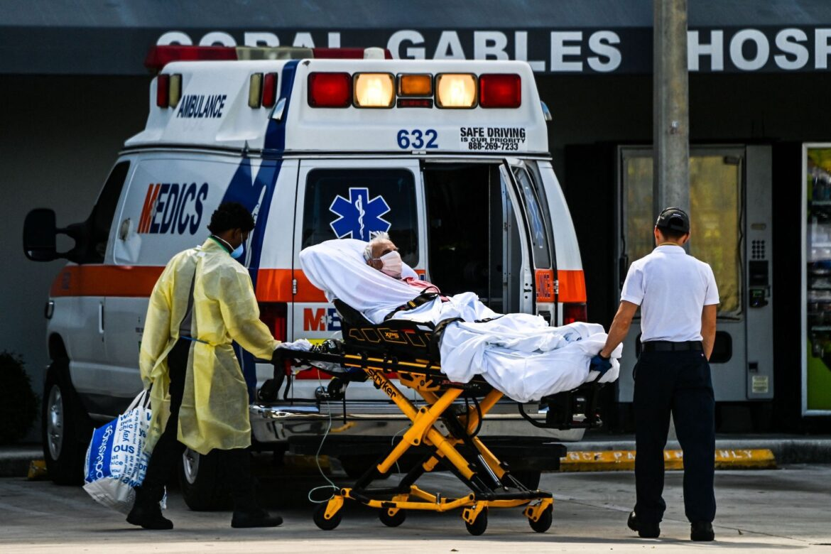 'Hospitals Are Overrun' as U.S. Covid Patients More Than Double in Past Month