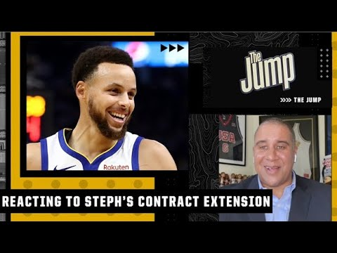 'Give Steph ALL the money!' – Marc J. Spears reacts to the Warriors re-signing Curry   The Jump