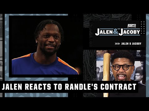 Julius Randle's $117M extension is a 'boss move' – Jalen Rose | Jalen and Jacoby