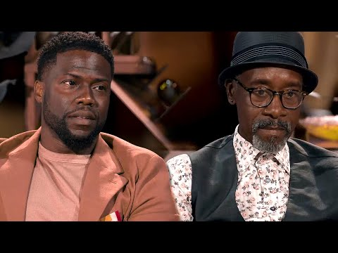 Watch Kevin Hart's Awkward Reaction to Don Cheadle's Age | E! News