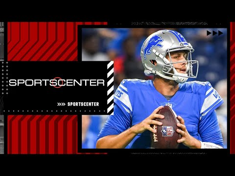 Marcus Spears reacts to Jared Goff's preseason debut with the Lions | SportsCenter