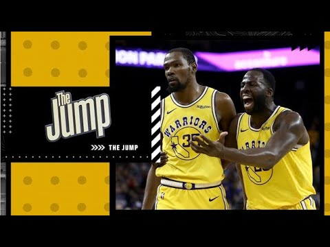 Kevin Durant and Draymond Green say Warriors mishandled their infamous argument in 2018 | The Jump