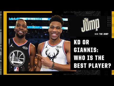 KD or Giannis: Who is the best player in the league?   The Jump