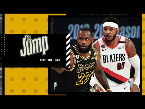 LeBron James & Carmelo Anthony redefined what a prime is in the NBA – McMenamin   The Jump