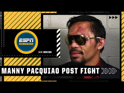 Manny Pacquiao: There's a 60/40 chance I retire after loss to Yordenis Ugas | ESPN Ringside