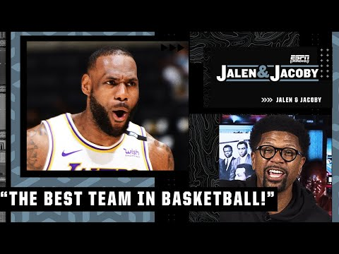 Jalen Rose declares the Lakers are 'the clear-cut best team in basketball!' | Jalen and Jacoby