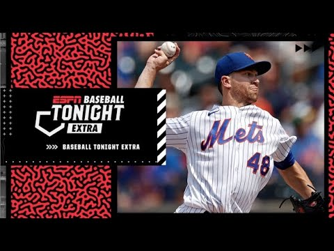 Jacob DeGrom expected to be out until September due to right forearm inflammation | Baseball Tonight