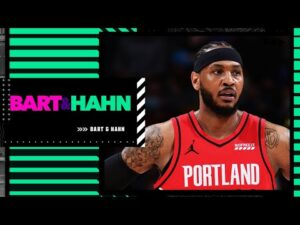 Stephen A.: Carmelo will go to the Lakers if he leaves the Blazers | Bart and Hahn