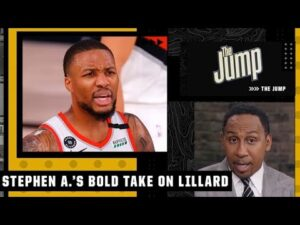 If Damian Lillard left the Blazers he would want to go to the Knicks – Stephen A. | The Jump