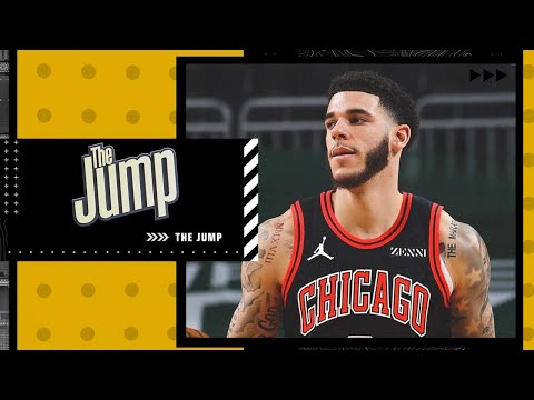 Kendrick Perkins loves the Chicago Bulls getting Lonzo Ball on a 4-year, $85M deal | The Jump
