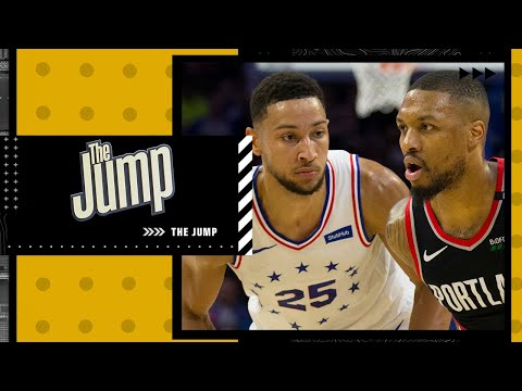 Is Damian Lillard or Ben Simmons more likely to stay with their teams?   The Jump