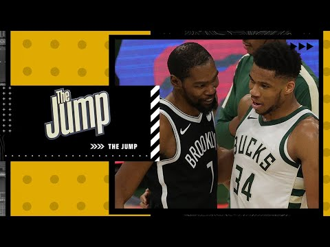 Kendrick Perkins says Giannis Antetokounmpo has a better legacy than Kevin Durant | The Jump