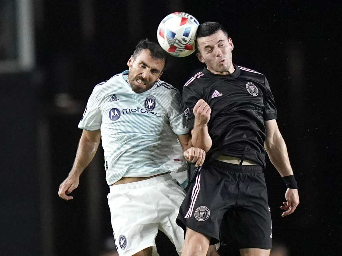 Inter Miami's late goal adds to Fire's road woes