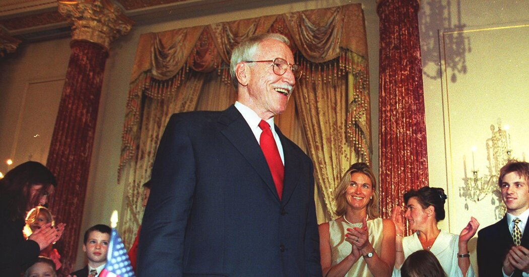 James Hormel, America's First Openly Gay Ambassador, Dies at 88