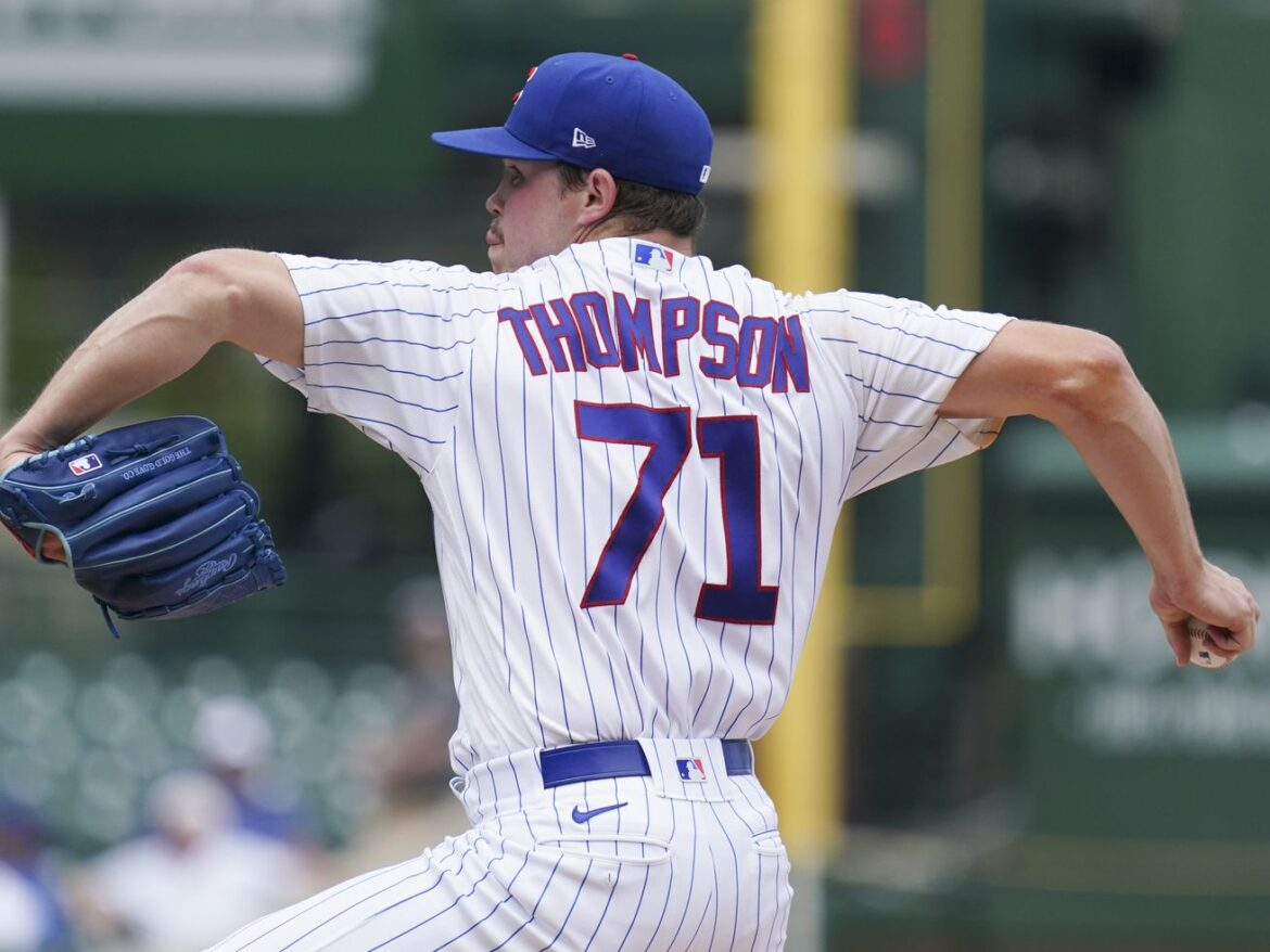 Keegan Thompson starts audition in Cubs loss to Royals