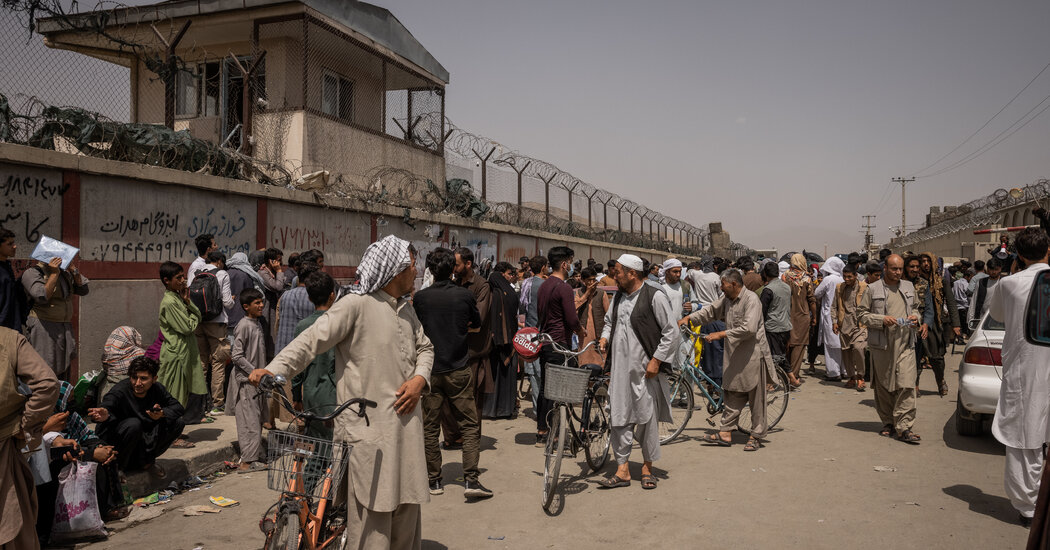 Series of U.S. Actions Left Afghan Allies Frantic, Stranded and Eager to Get Out