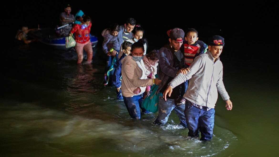 Number of migrant family encounters at border surges by 49% in July, few are expelled