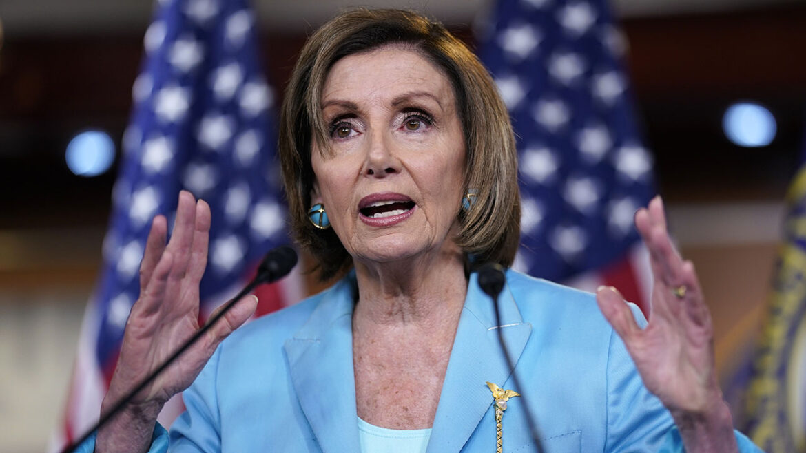 Pelosi's first tweets after Kabul bombings about Women's Equality Day