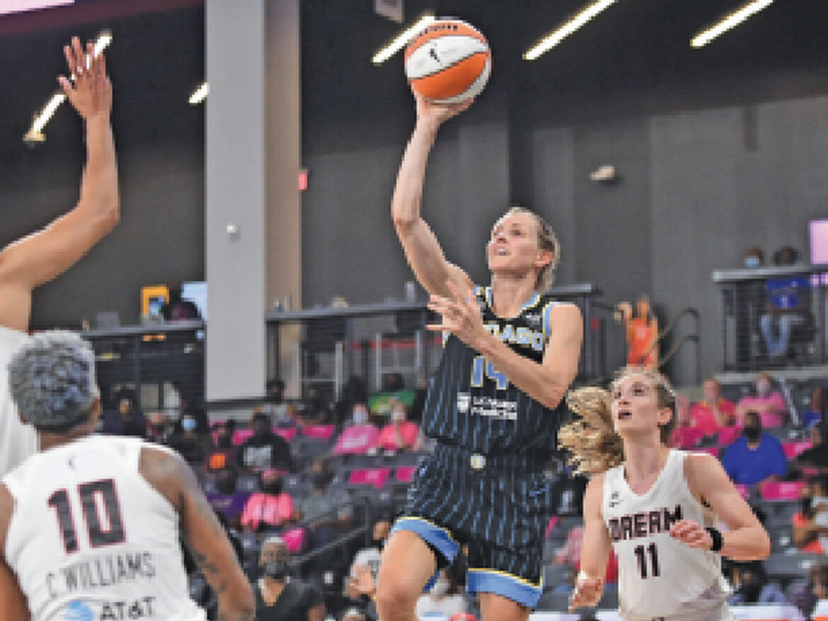 Quigley, Parker lead Sky past Dream in opener of road trip