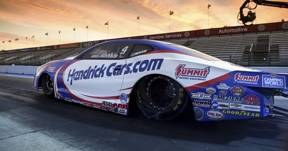 Ron Capps tops funny car qualifying at NHRA Winternationals in Pomona