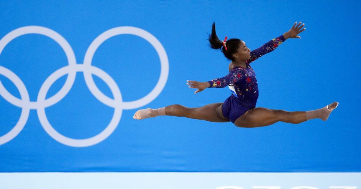 Simone Biles set to compete in balance beam final at Tokyo Olympics