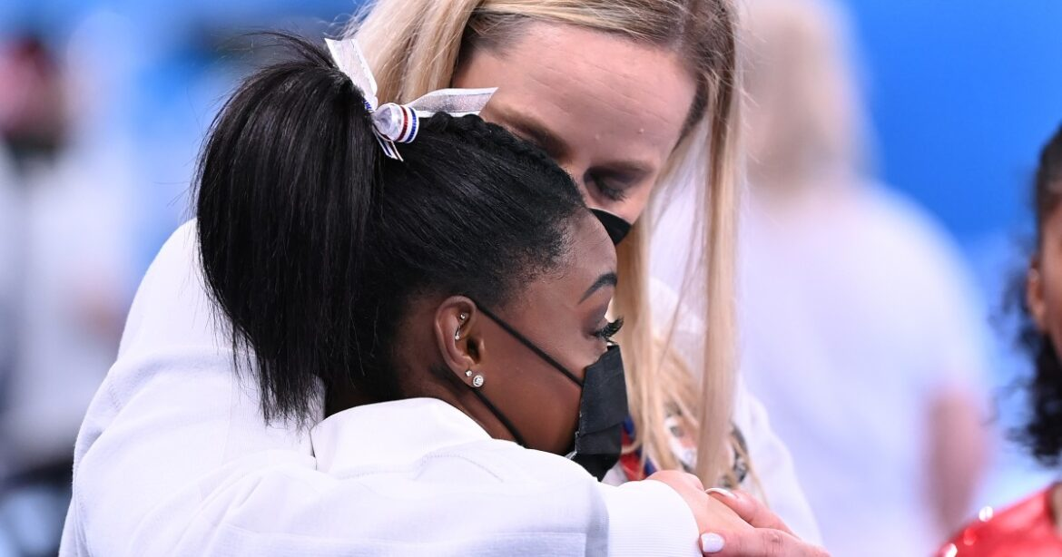 Simone Biles withdraws from floor exercise final at the Tokyo Olympics