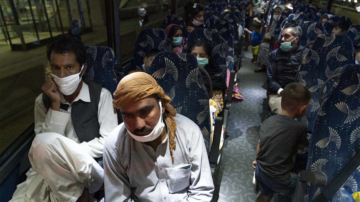 Some Afghan evacuees flagged for concern by CBP at military bases worldwide