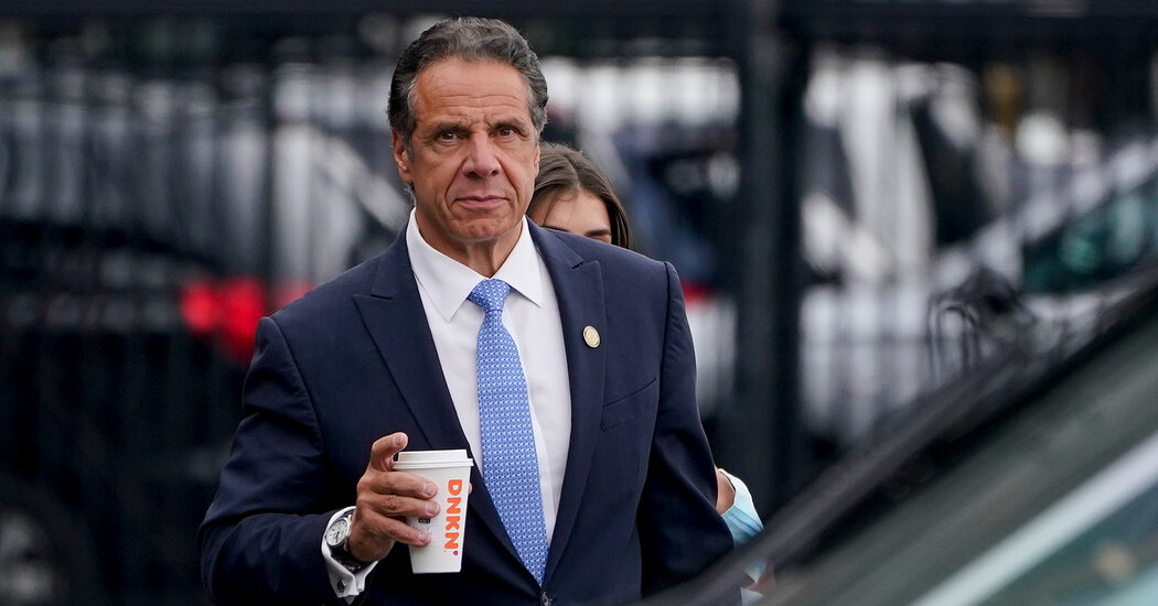 'Stay New York Tough': Cuomo Gives Final Remarks as Governor