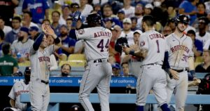 The Sports Report: Astros quiet the Dodgers