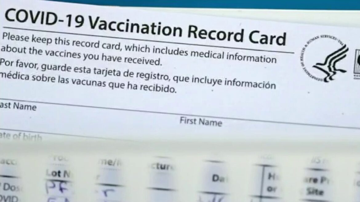 Thousands of fake COVID-19 vaccine cards, some from China, seized by US Customs